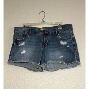 Old Navy Diva frayed shorts